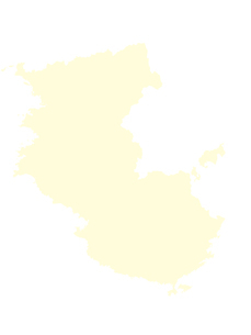 都道府県ポリゴン地図EPS和歌山県(境界無)のイラスト素材 [FYI03102260]