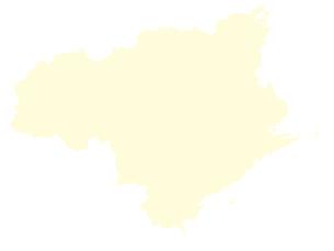 都道府県ポリゴン地図EPS徳島県(境界無)のイラスト素材 [FYI03102266]