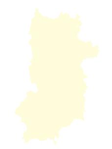 都道府県ポリゴン地図EPS奈良県(境界無)のイラスト素材 [FYI03102269]