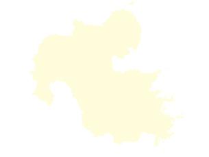 都道府県ポリゴン地図EPS大分県(境界無)のイラスト素材 [FYI03102275]