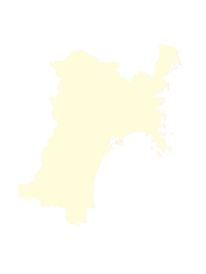 都道府県ポリゴン地図EPS宮城県(境界有)のイラスト素材 [FYI03102282]