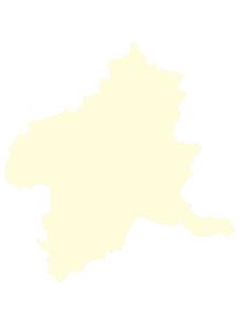 都道府県ポリゴン地図EPS群馬県(境界有)のイラスト素材 [FYI03102288]