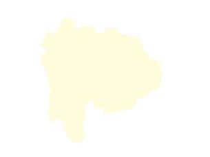 都道府県ポリゴン地図EPS山梨県(境界有)のイラスト素材 [FYI03102296]