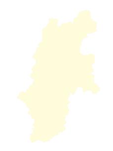都道府県ポリゴン地図EPS長野県(境界有)のイラスト素材 [FYI03102297]