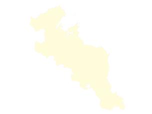 都道府県ポリゴン地図EPS京都府(境界有)のイラスト素材 [FYI03102303]