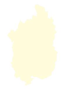 都道府県ポリゴン地図EPS滋賀県(境界有)のイラスト素材 [FYI03102304]
