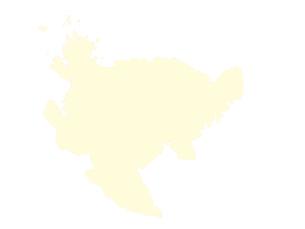 都道府県ポリゴン地図EPS佐賀県(境界有)のイラスト素材 [FYI03102316]