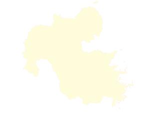 都道府県ポリゴン地図EPS大分県(境界有)のイラスト素材 [FYI03102322]