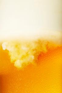 ビールのアップの写真素材 [FYI03102349]