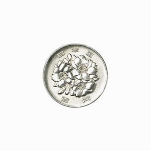 100円玉の表の写真素材 [FYI03102441]