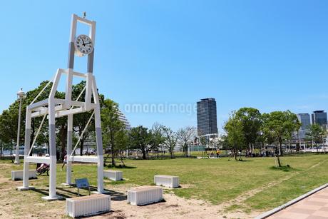 都会の公園の写真素材 [FYI03102575]