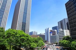 霞が関の高層ビル街   東京都の写真素材 [FYI03103070]