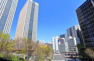 霞が関の高層ビル街   東京都の写真素材 [FYI03103071]