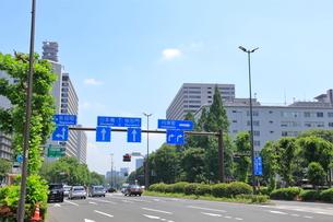 霞が関二丁目交差点   東京都の写真素材 [FYI03103078]