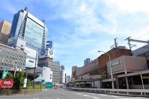 JR新橋駅汐留口の写真素材 [FYI03103514]