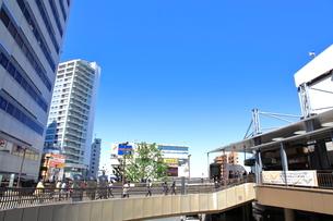 三鷹駅南口前  東京都の写真素材 [FYI03103677]