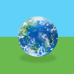 地球イメージのイラスト素材 [FYI03103792]