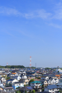 神奈川県 横浜市の住宅街の写真素材 [FYI03104185]