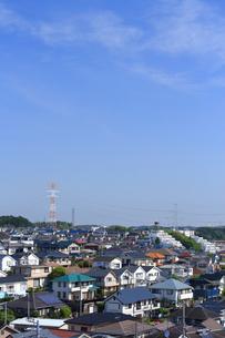 神奈川県 横浜市の住宅街の写真素材 [FYI03104186]