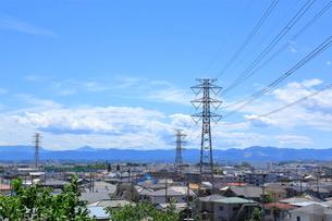 送電鉄塔    東京都の写真素材 [FYI03104930]