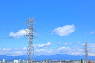 送電鉄塔    東京都の写真素材 [FYI03104931]