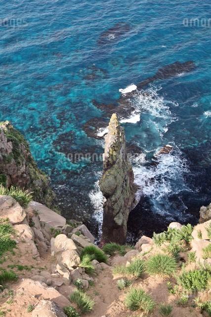 赤岩 天売島の写真素材 [FYI03105599]