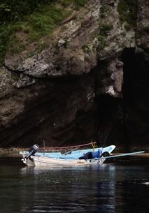 天売島のウニ漁の写真素材 [FYI03105787]
