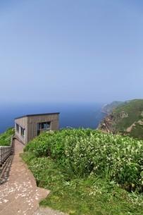 天売島の海鳥観察舎の写真素材 [FYI03105797]