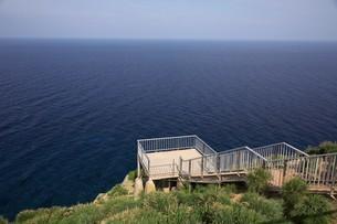 赤岩展望台 天売島の写真素材 [FYI03105810]
