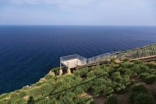 赤岩展望台 天売島の写真素材 [FYI03105815]