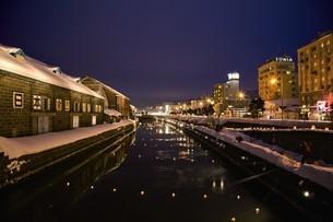 小樽雪あかりの路の写真素材 [FYI03106199]