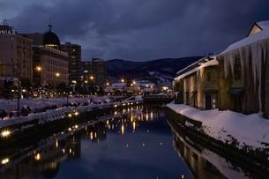 小樽雪あかりの路の写真素材 [FYI03106200]