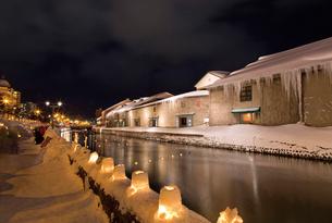 小樽雪あかりの路の写真素材 [FYI03106981]