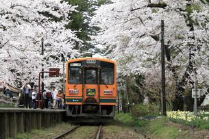 津軽鉄道・走れメロス号の写真素材 [FYI03107427]