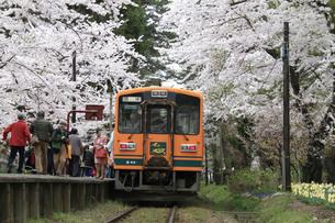 津軽鉄道・走れメロス号の写真素材 [FYI03107429]
