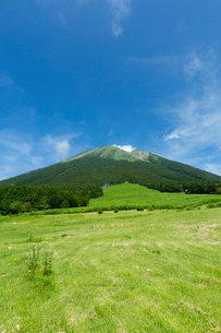桝水高原から眺める大山の写真素材 [FYI03109253]
