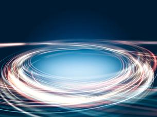 渦巻く光線群のイラスト素材 [FYI03109813]