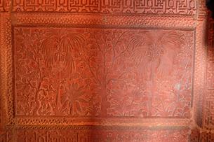 ファーテーブル・シクリの透かし彫りの写真素材 [FYI03114991]