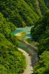 寸又峡の夢の吊橋の写真素材 [FYI03115190]