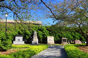 神奈川県横須賀市 ヴェルニー公園 旧海軍の慰霊碑の写真素材 [FYI03115544]