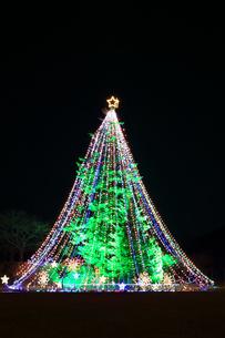 神奈川県 宮ヶ瀬のクリスマスイルミネーションの写真素材 [FYI03115554]