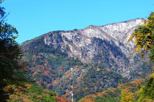 雪の大山ケーブルカーの写真素材 [FYI03115564]