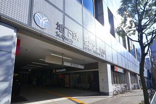横浜市営地下鉄のセンター南駅の写真素材 [FYI03115656]