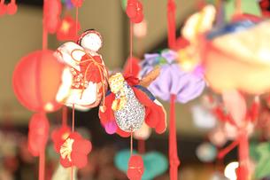 都筑民家園のひな祭りの写真素材 [FYI03115657]