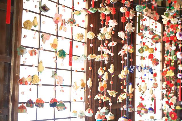 都筑民家園のひな祭りの写真素材 [FYI03115671]