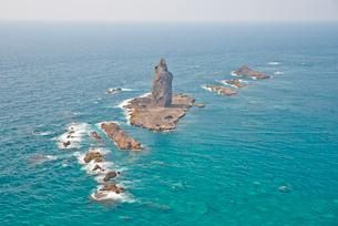 神威岬 神威岩 チャレンカ姫の写真素材 [FYI03115983]
