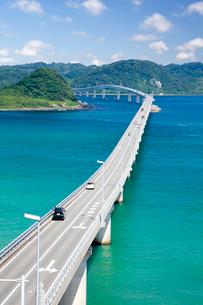 角島大橋と角島の写真素材 [FYI03116079]