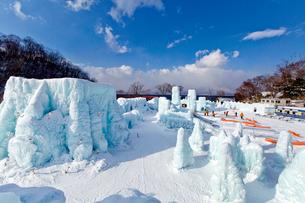 支笏湖氷濤まつりの写真素材 [FYI03116237]