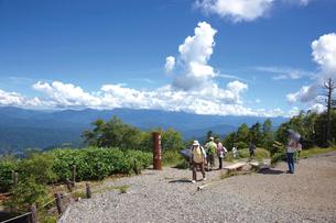 御岳ロープウェイ飯森高原駅側からの眺めの写真素材 [FYI03116293]