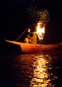 長良川鵜飼の風景の写真素材 [FYI03116505]